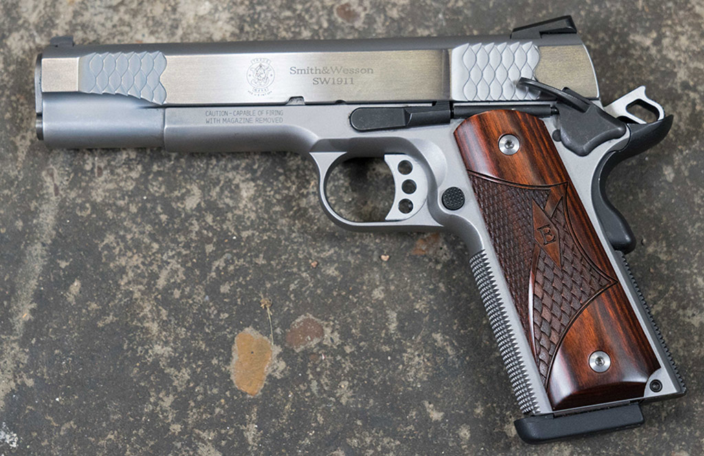 1911's are popular single action pistols