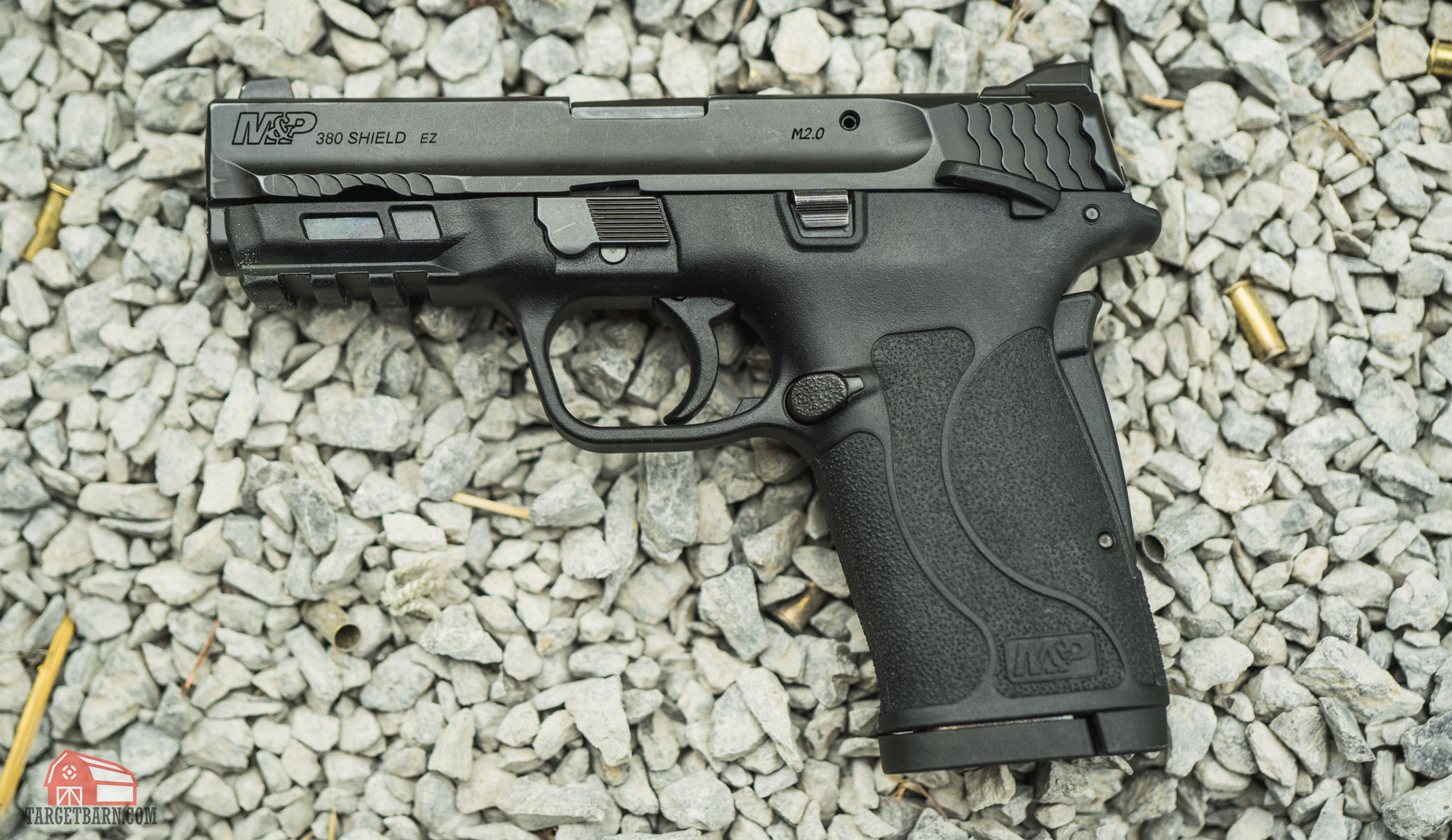 the smith & wesson m&p shield ez .380 is easy to shoot