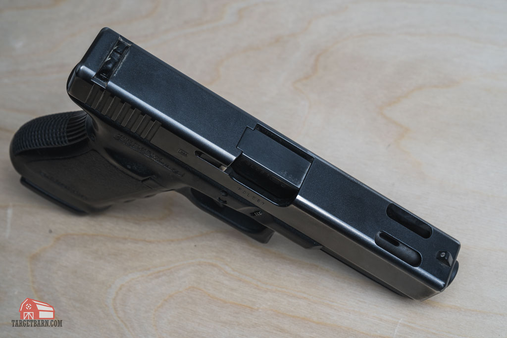 a .45 ACP glock 21c with a ported barrel