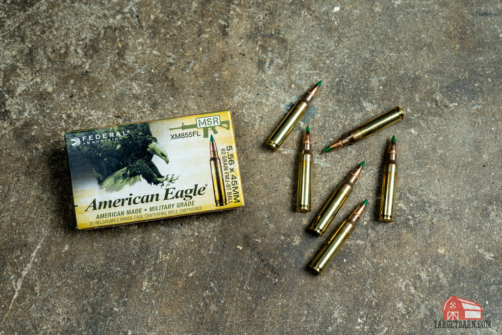 american eagle m855 steel core ammo