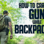 how to carry a gun while backpacking hero image