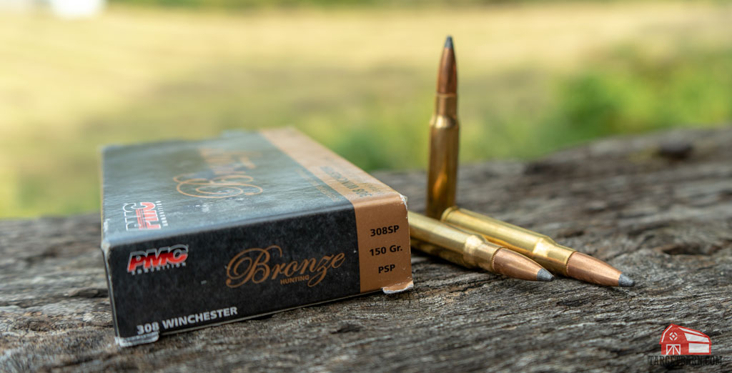 pmc 308 pointed soft point ammo and box
