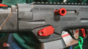 extended mag release and charging handle for the ruger pc9 from tandemkross