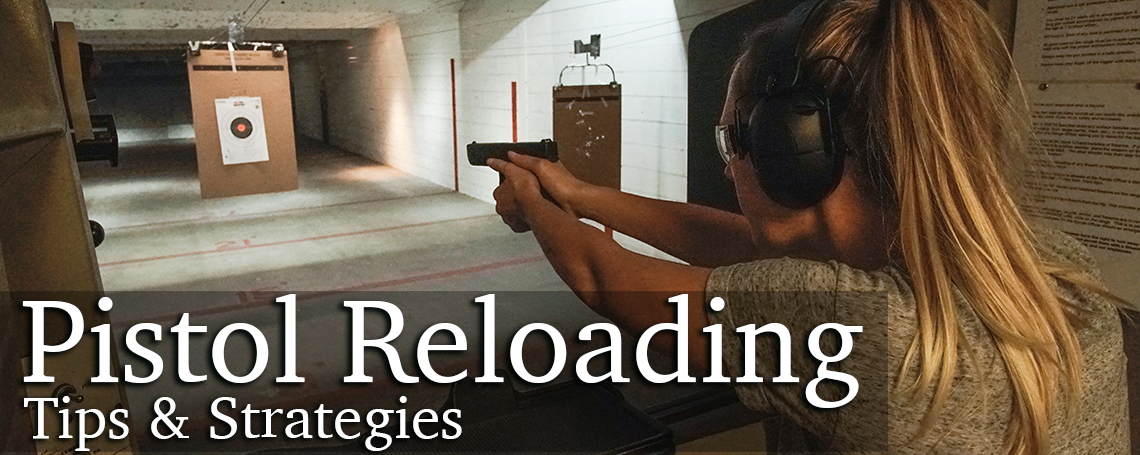 How to reload a pistol