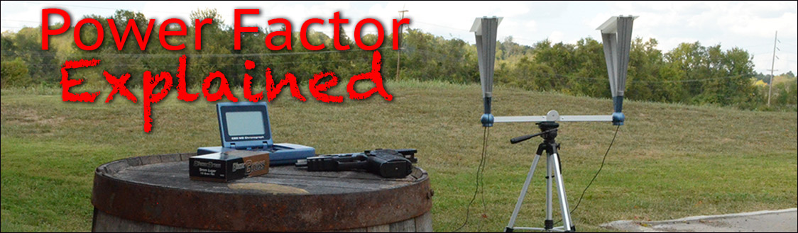 measuring power factor at a shooting range