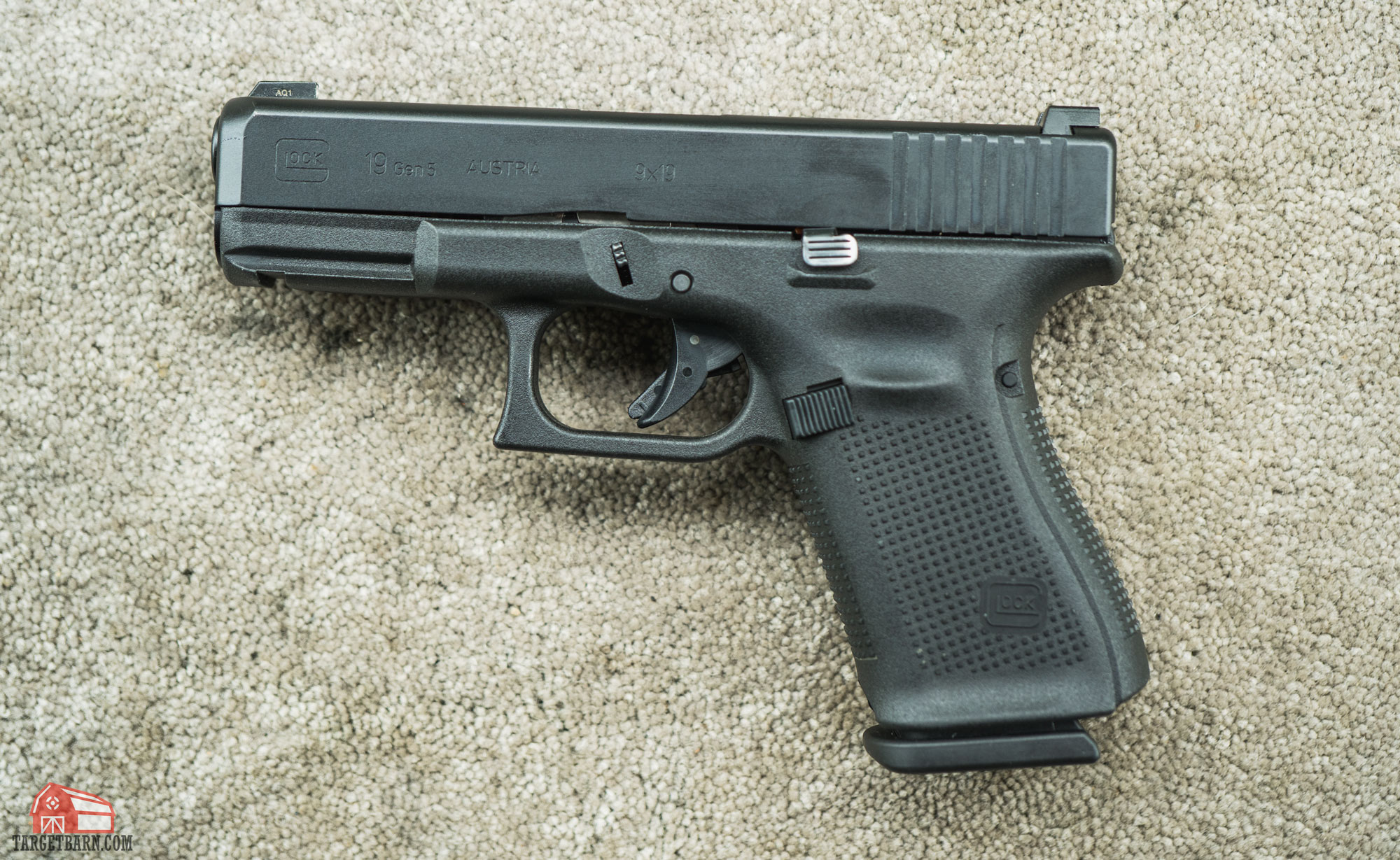 a glock 19 that would be used in the compact carry pistol division