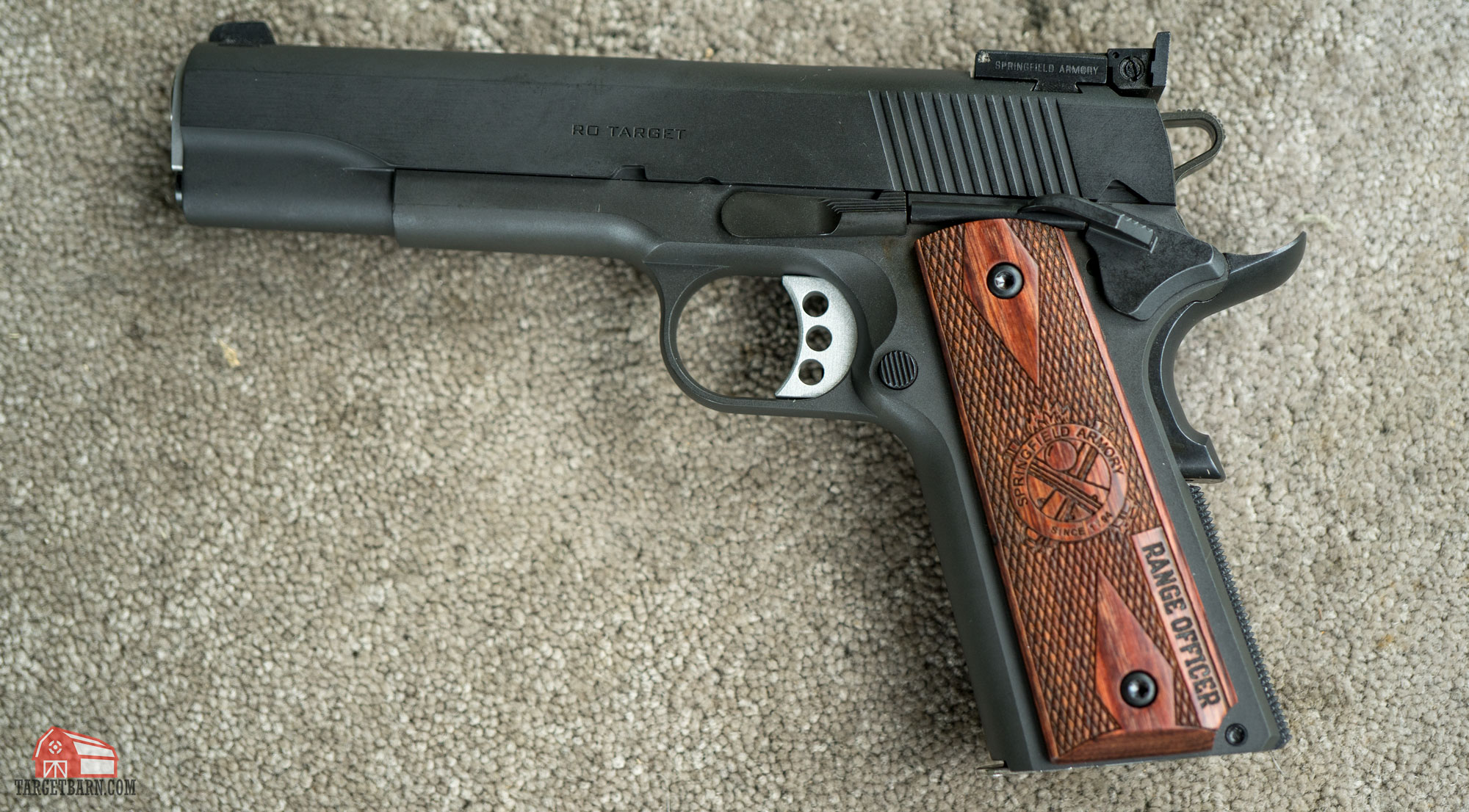 a springfield 1911 for the custom defensive pistol idpa division