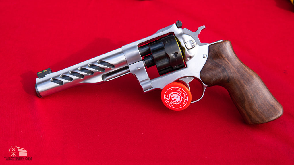 the new ruger super gp100 revolver in 9mm
