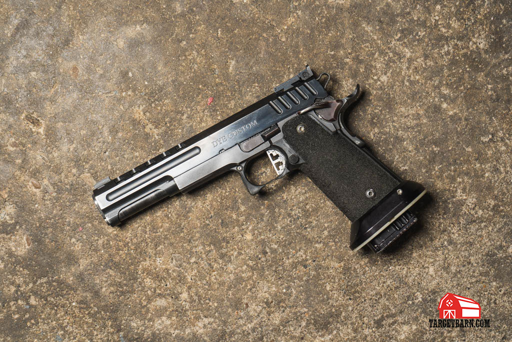 a USPSA Limited gun is similar to an Open gun without electronic sights
