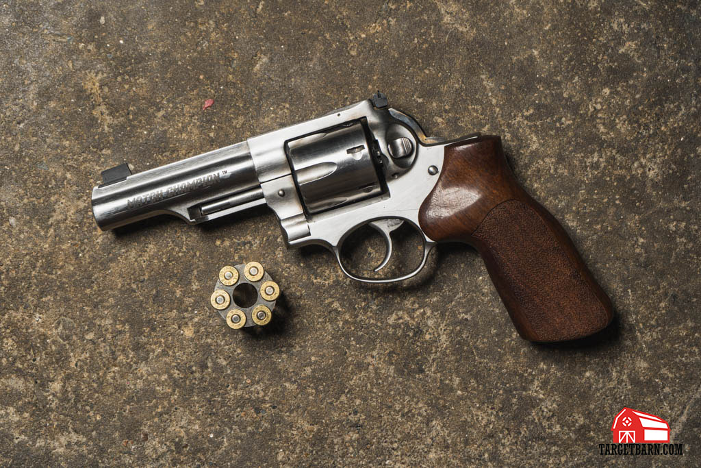 a ruger revolver customized for USPSA revolver division