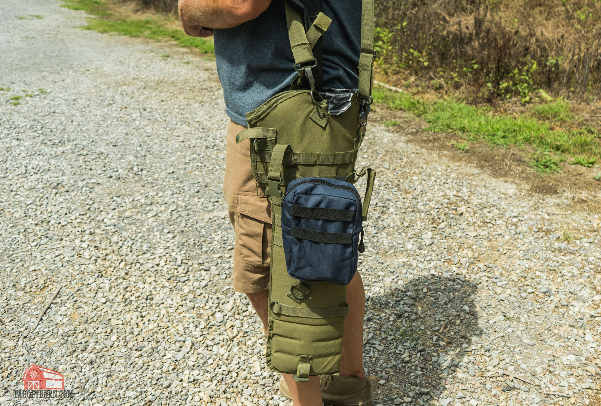 a range bag for a rifle is needed to transport the rifle between stages