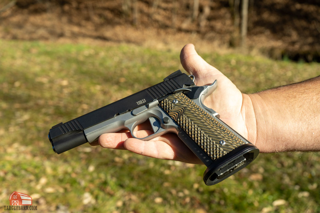 a 9mm 1911 for single stack division
