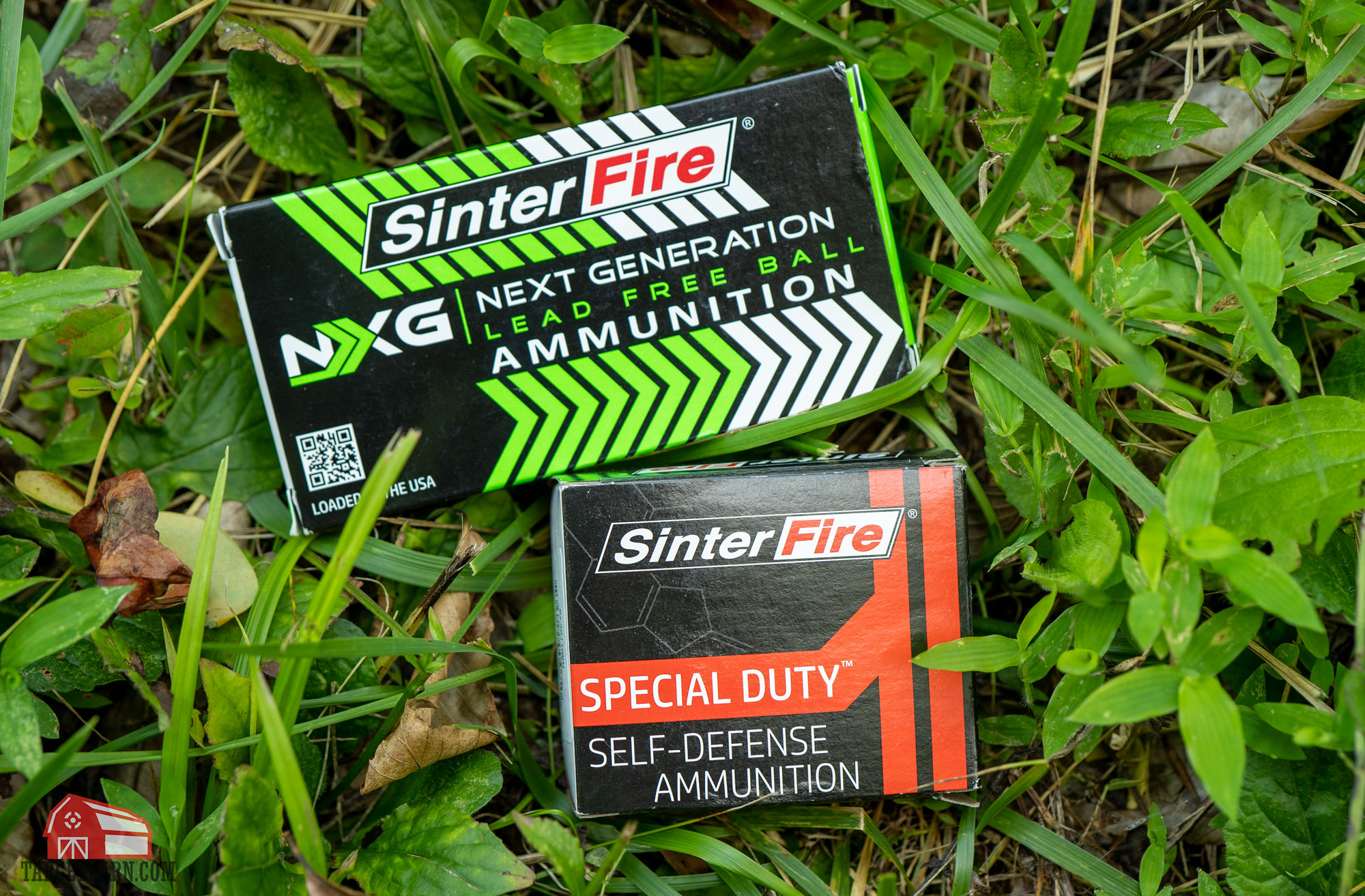 sinterfire frangible training ammo and sinterfire special duty frangible self defense ammo