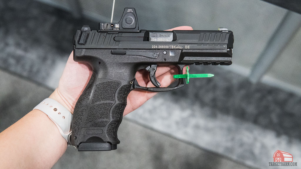 the h&k vp9 has been updated for 2020 to accept red dot optics